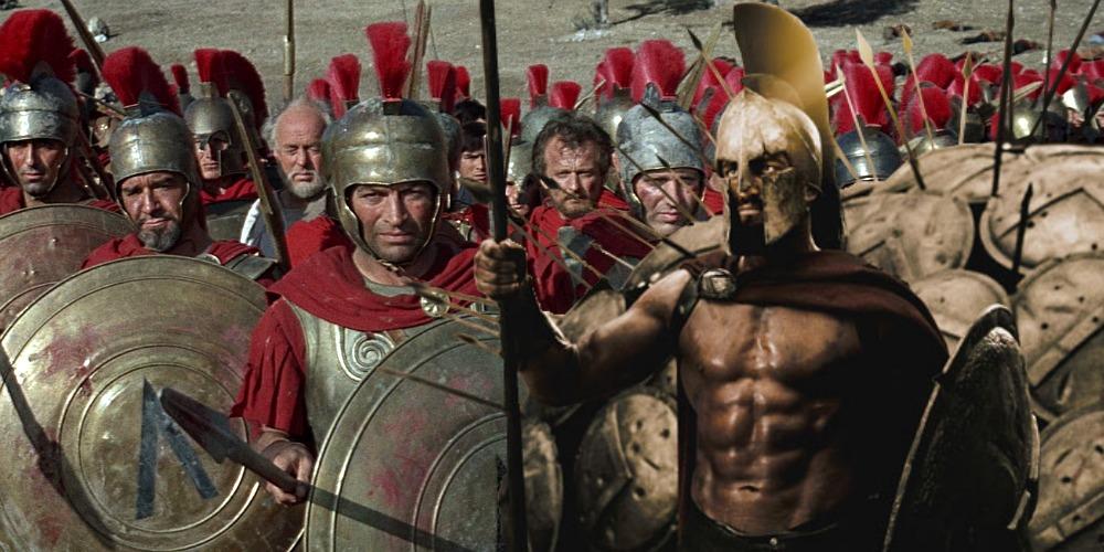 Thermopylae Spartan movies